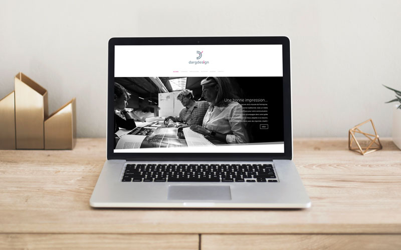 Refonte du site internet DargDesign